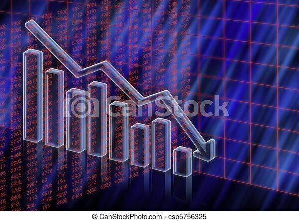 Stock value decreasing - csp5756325