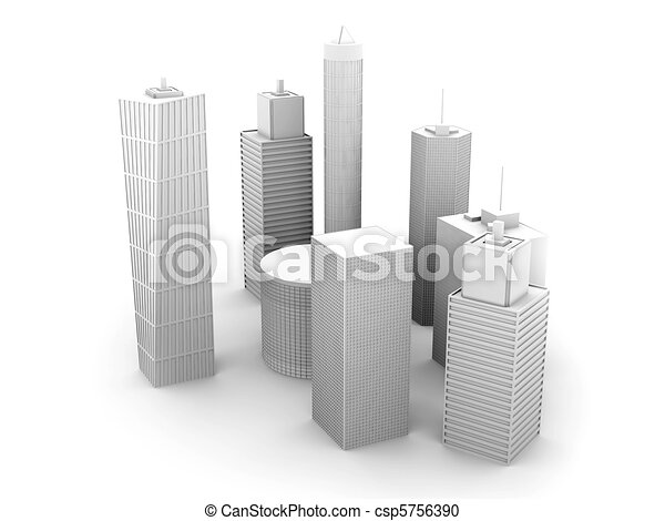 Skyscrapers - csp5756390
