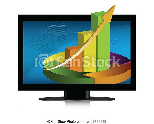 Graphics Flat Screen - csp5756888