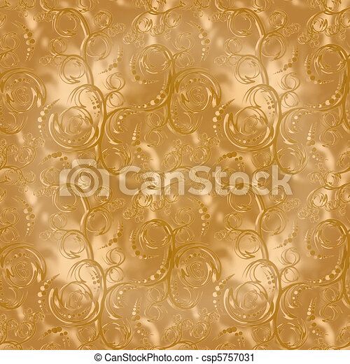 gold seamless pattern - csp5757031