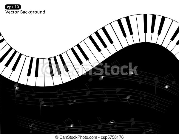Musical background - csp5758176