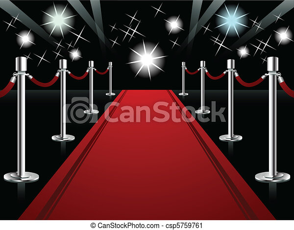 Red Carpet - csp5759761