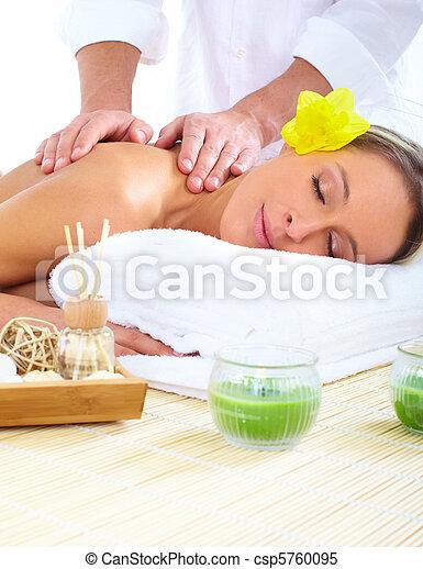 spa massage - csp5760095