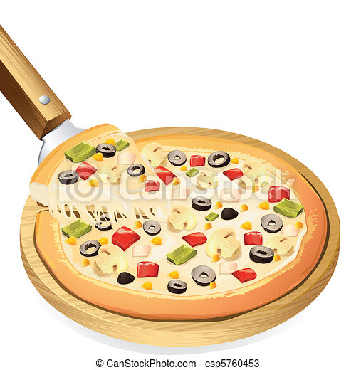 Yummy Pizza - csp5760453