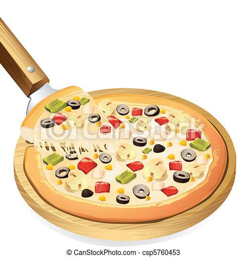 Yummy Pizza - csp5760453
