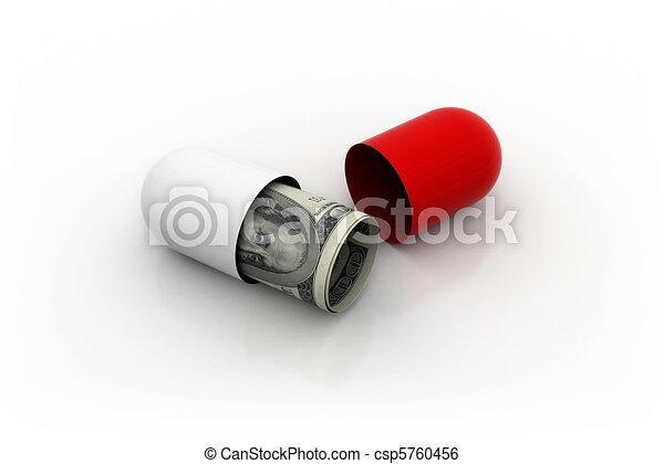 Medical costs - csp5760456