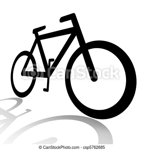 Bicycle silhouette - csp5762685