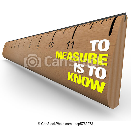 Ruler - To Measure is to Know - Importance of Metrics - csp5763273