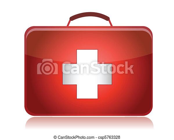 First aid kit - csp5763328