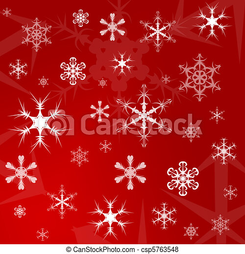 Christmas gift wrapping paper - csp5763548