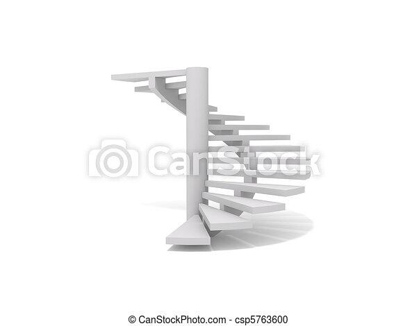 Spiral staircase - csp5763600