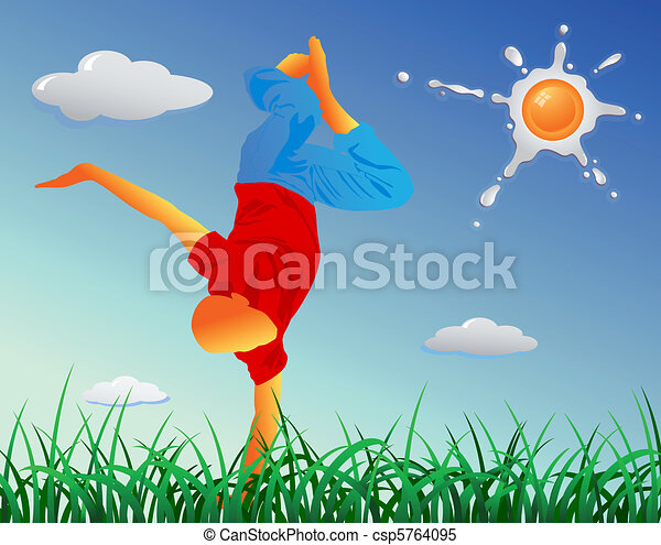 Summer time outdoors - csp5764095