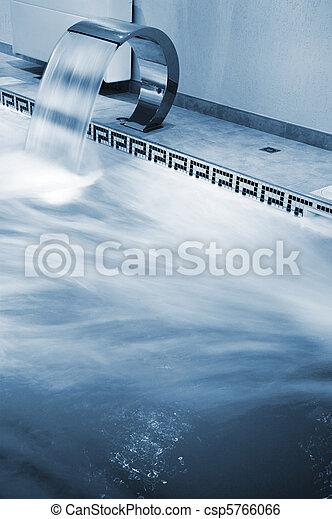 Stream of water - csp5766066