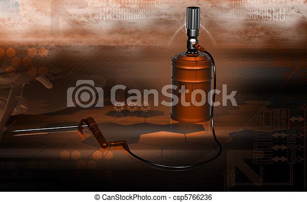 Air operated grease pump - csp5766236