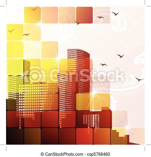 Dynamic cityscape - csp5766460