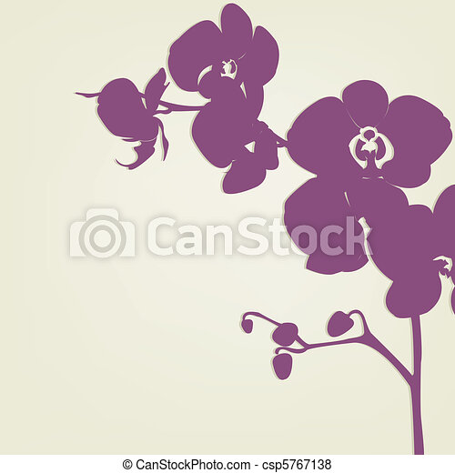 Orchid Clipart and Stock Illustrations. 7,653 Orchid vector EPS ...