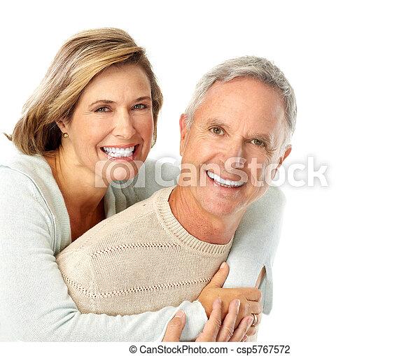 Elderly couple - csp5767572