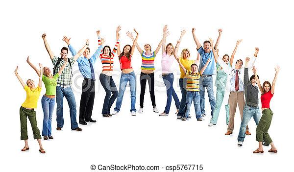Happy funny people - csp5767715