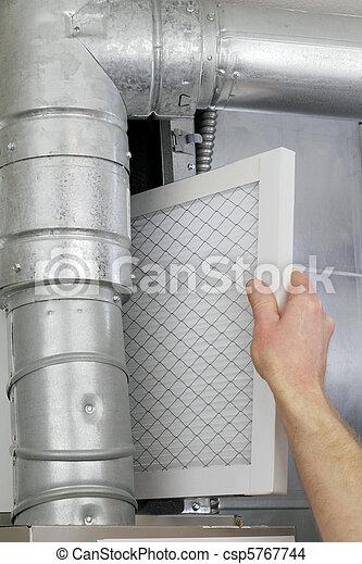 Replace Home Air Filter - csp5767744