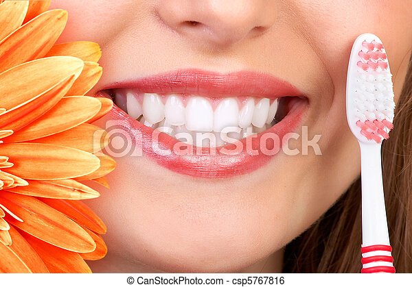 smile and teeth - csp5767816
