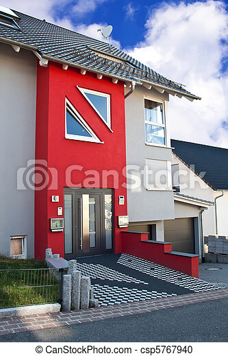 Residential house for 2 families. - csp5767940