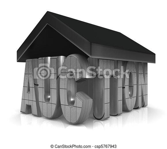 Auction Property Concept - csp5767943