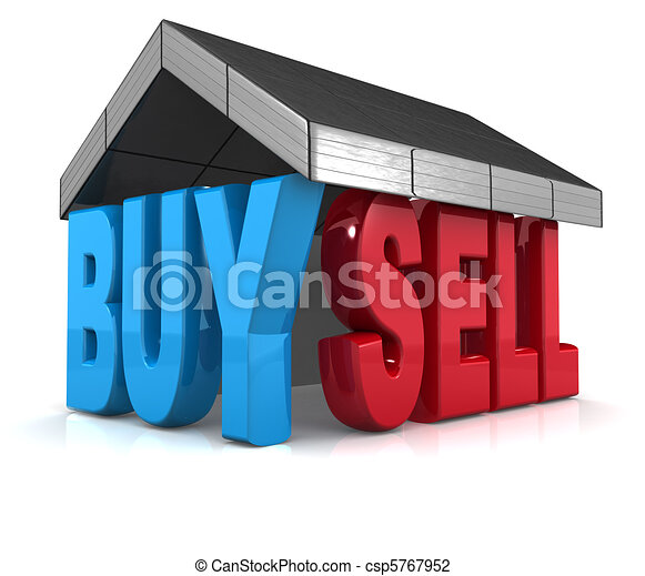 Property buy and sell concept - csp5767952