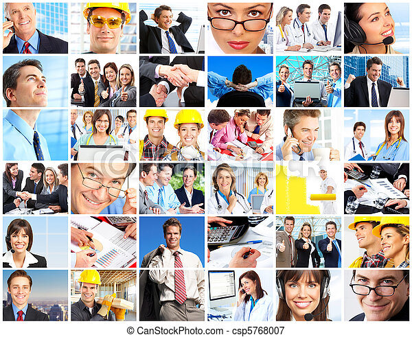 workers people - csp5768007