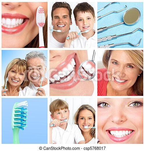 變白, 牙齒 - csp5768017