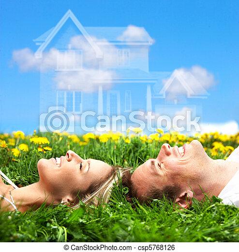 夫婦, 愛 - csp5768126
