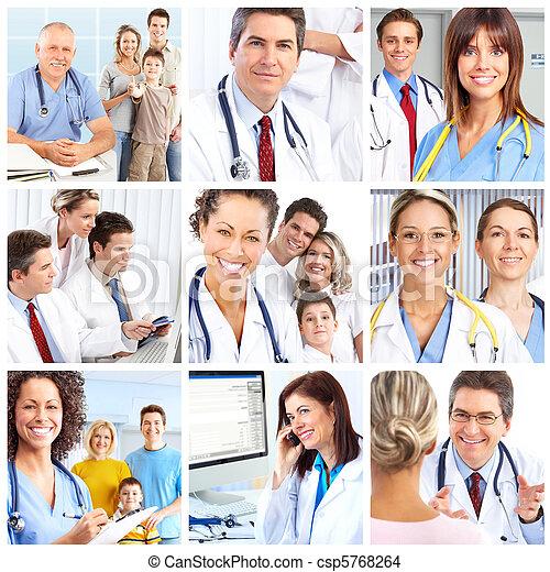 Medical doctors - csp5768264