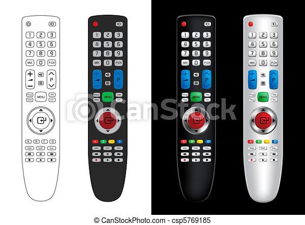 Remote Control - Vector - csp5769185