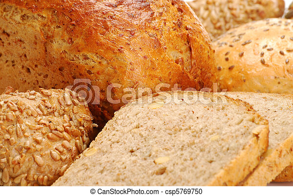 Composition with bakery products - csp5769750