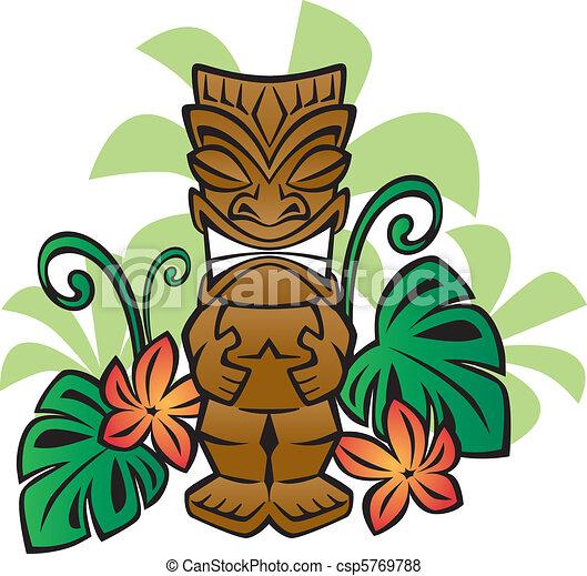Exotic Tiki God - csp5769788