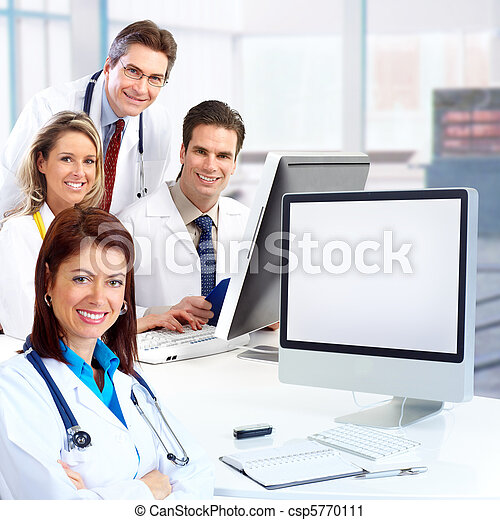 médico, doutores - csp5770111