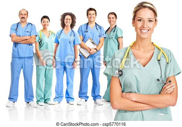 médico, medicos - csp5770116