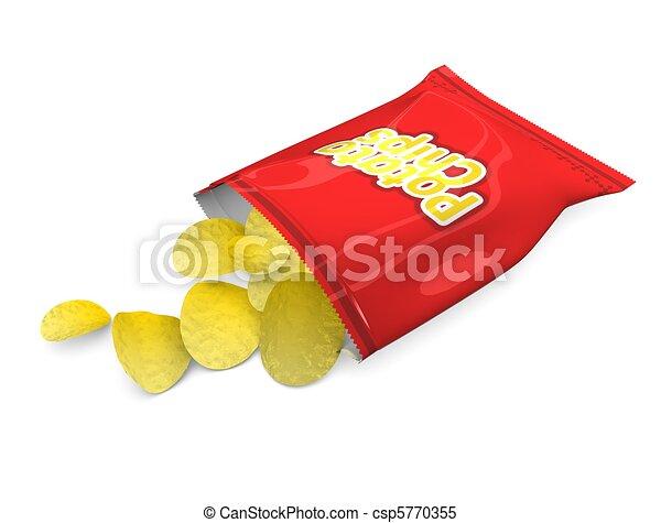 Potato chips - csp5770355