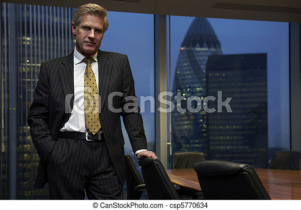 Business Man - csp5770634