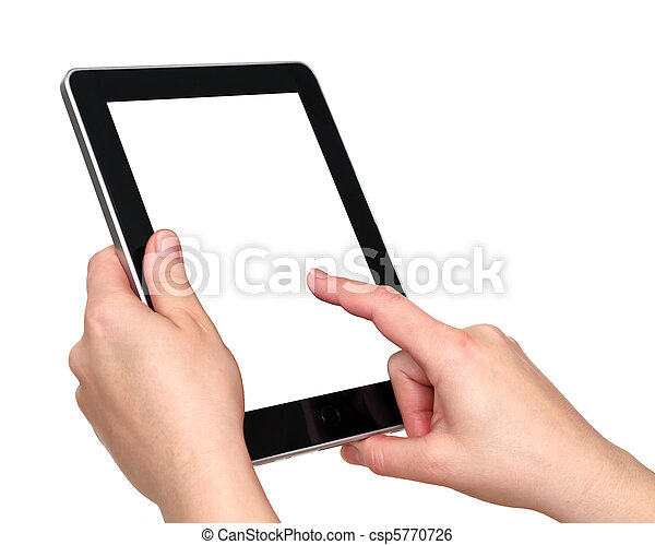 touch screen tablet - csp5770726