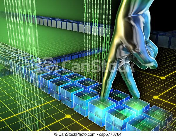 Internet walk - csp5770764