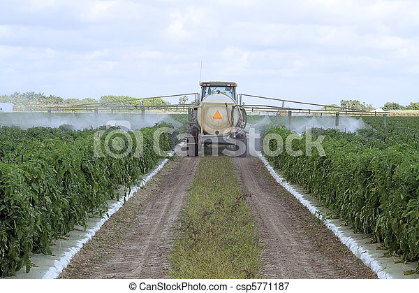 Spraying pesticides - 3 - csp5771187