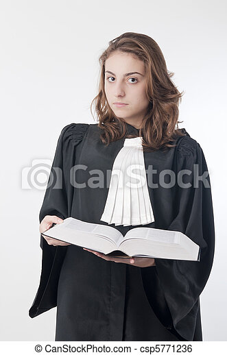 Young lawyer - csp5771236