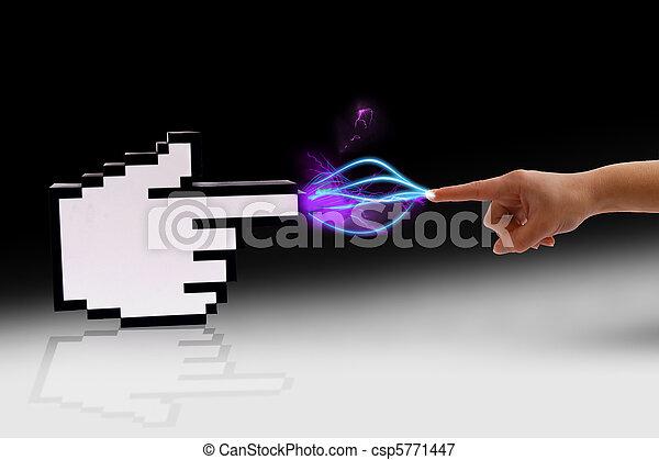 コミュニケーション, 人間,  Cyber - csp5771447