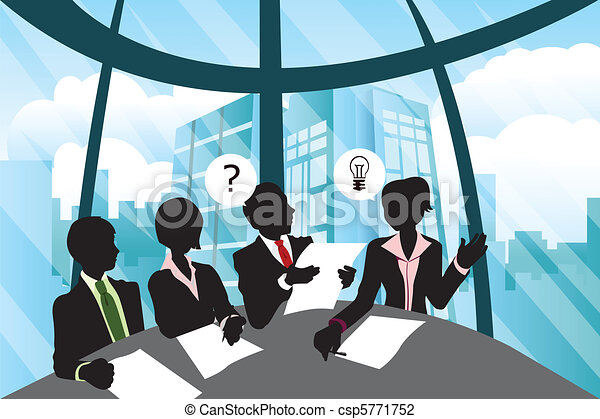 Business meeting - csp5771752