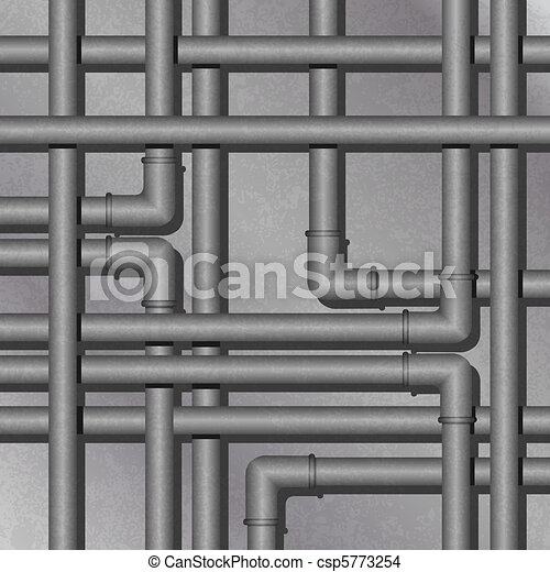 Metal Tube Background - csp5773254
