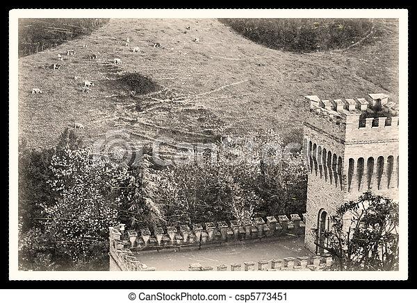 old picture of Romagna - csp5773451
