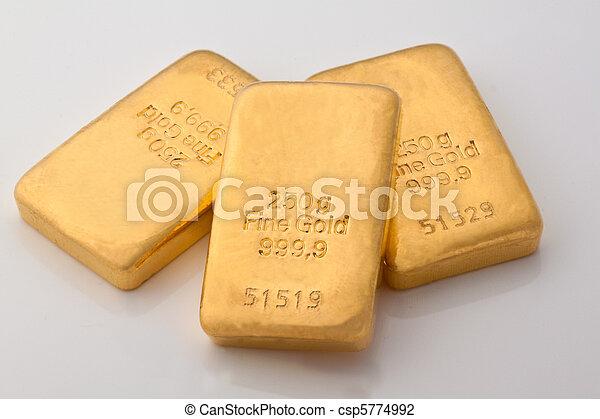 Investment in gold bullion - csp5774992