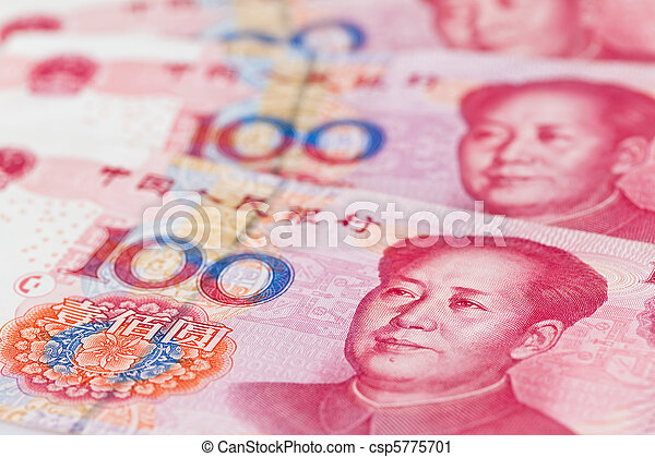 China Business yuan. Chinese Currency - csp5775701