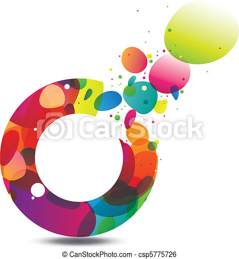 Circle of Colors Background - csp5775726