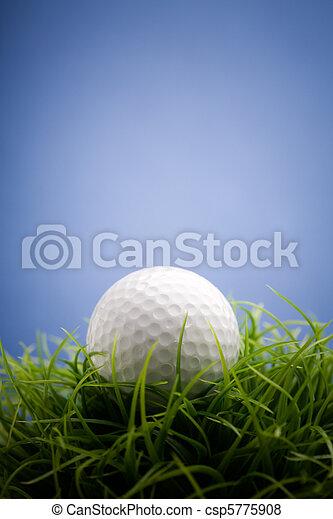 Golfball - csp5775908
